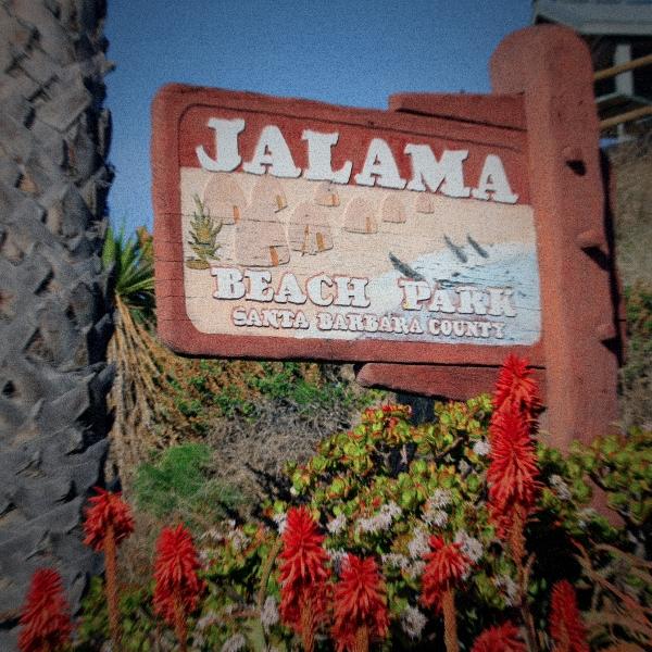 Jalama Beach Park Sign