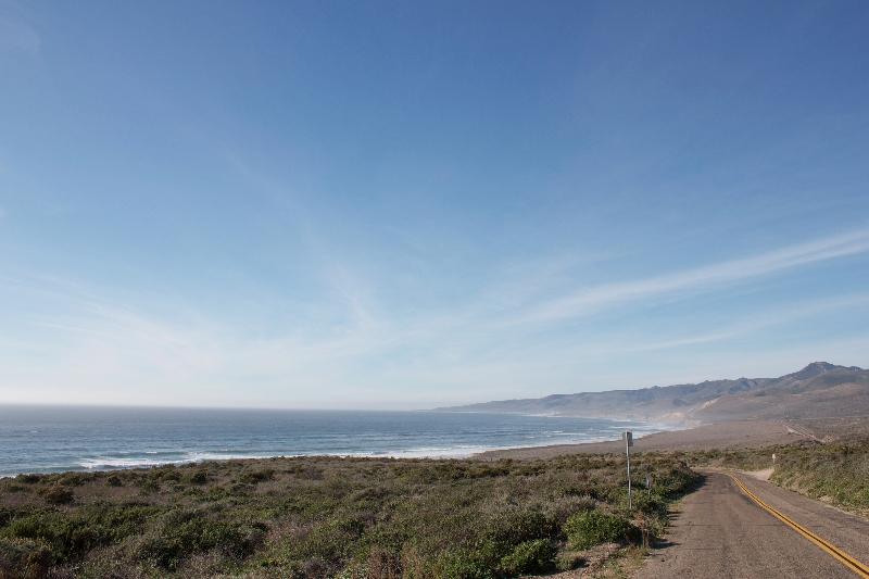 View of Jalama Beach looking north