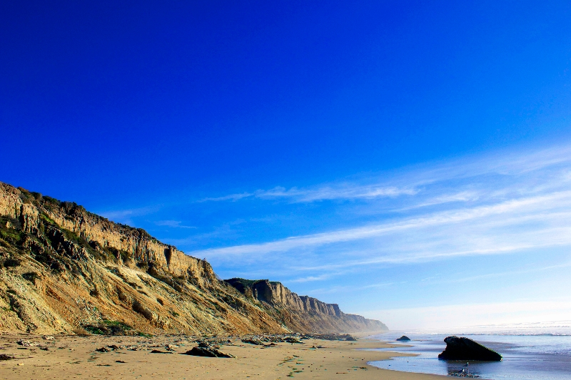 View of Jalama Beach looking south