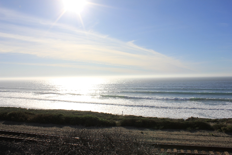 Swell rolling in to Jalama