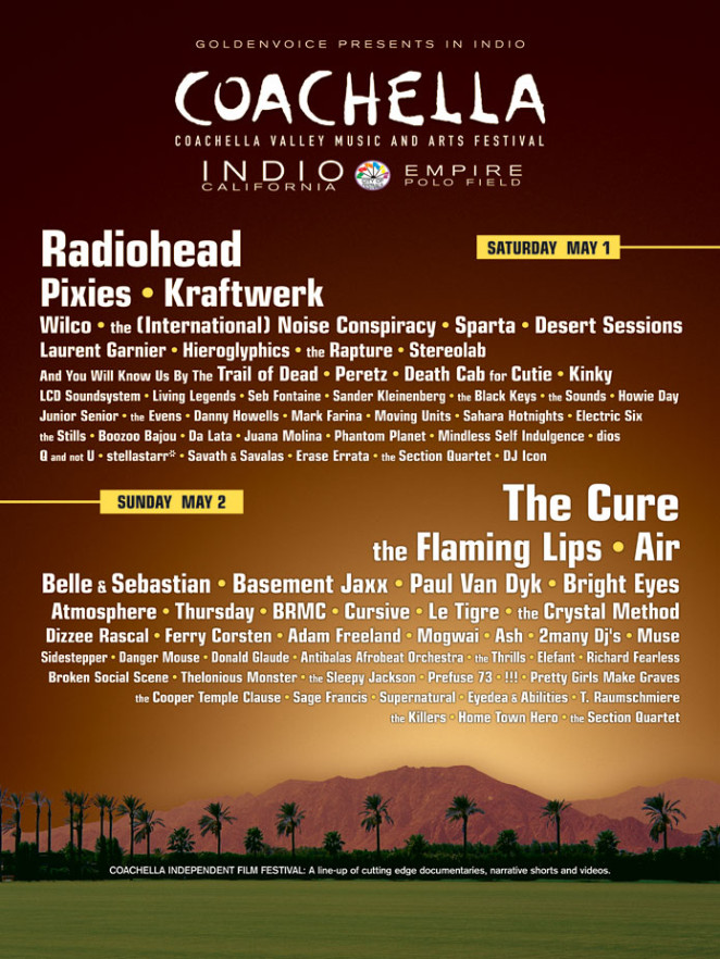 Coachella 2004 Poster