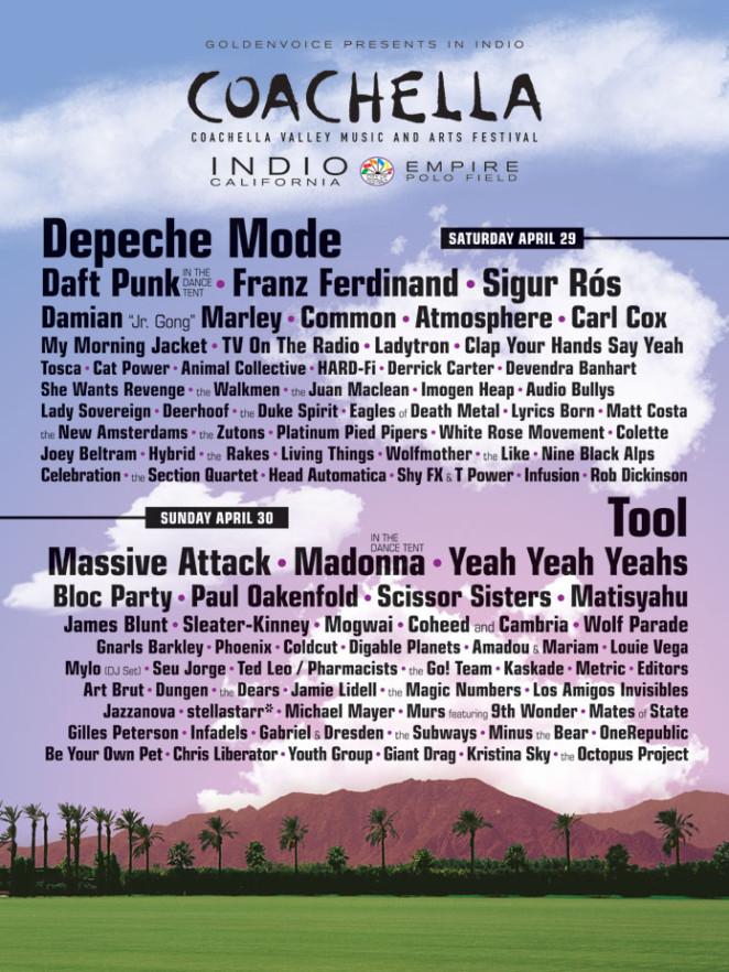 Coachella 2006 Poster