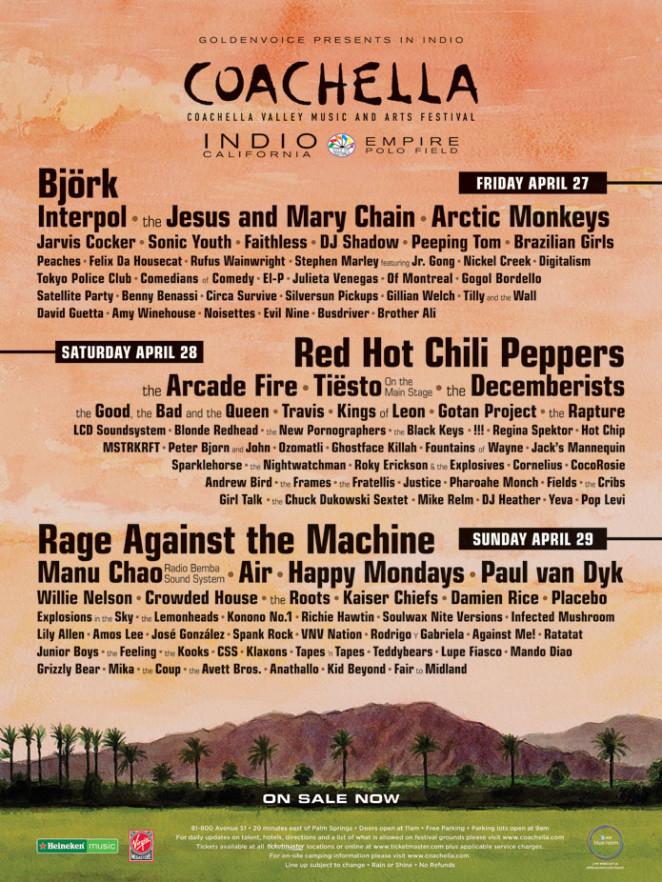Coachella 2007 Poster