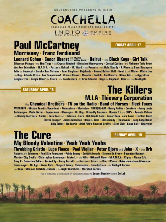 Coachella 2009 poster