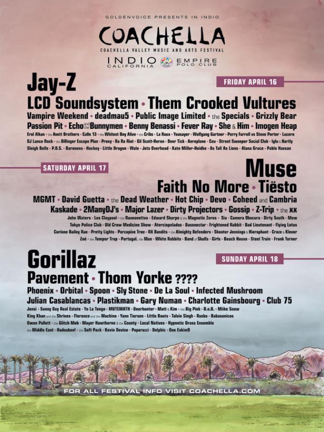 Coachella 2010 poster