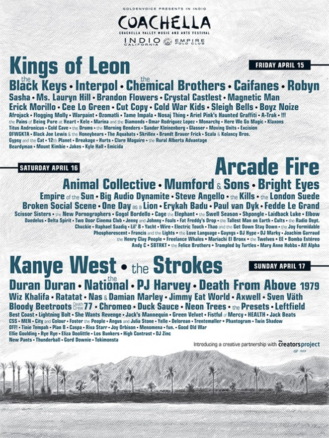Coachella 2011 Poster