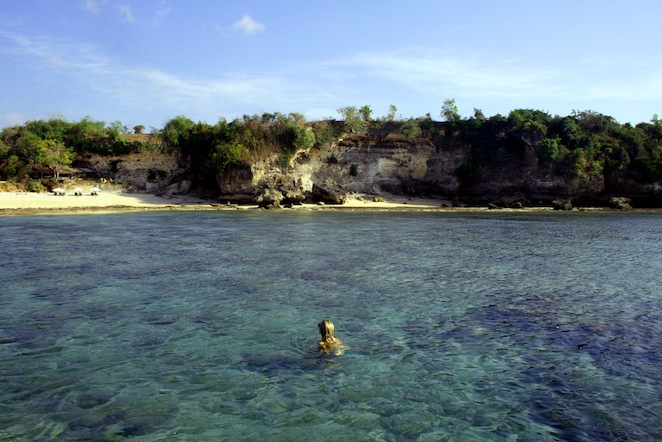 Balangan Beach Lagoon Bali