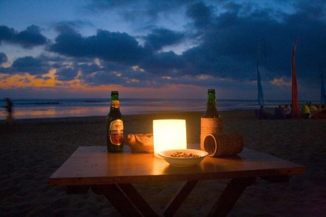 Bali Bintang Sunset
