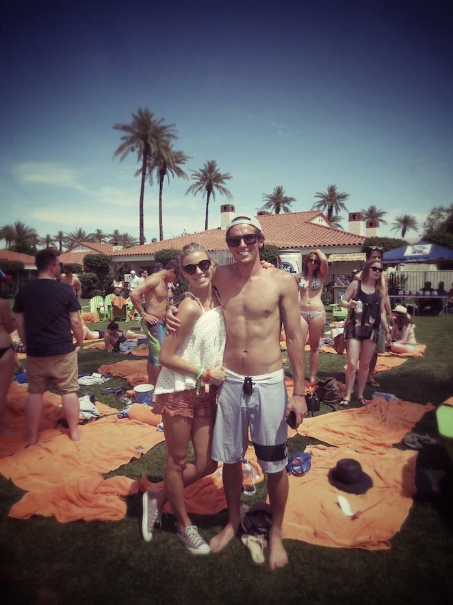 Coachella La Quinta pool party