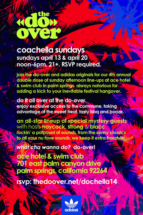 Coachella party the Doover Ace Hotel