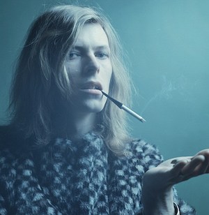 David Bowie cigarette