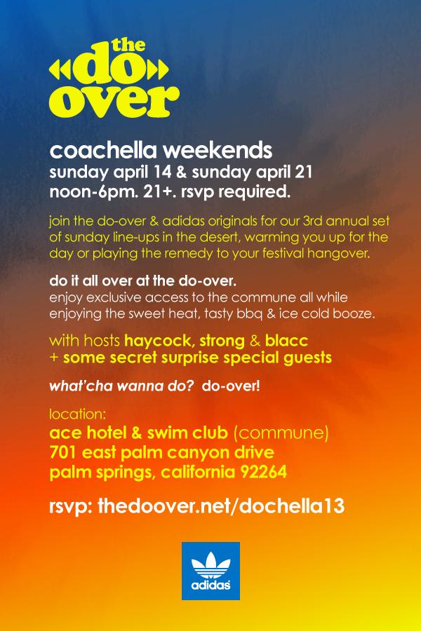 Do Over Coachella 2013 party