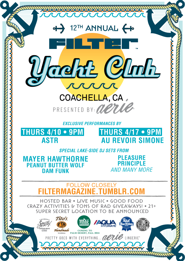 Filter Yacht Club Coachella 2014 pool party