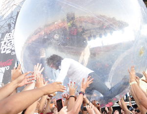 Flaming Lips Lollapalooza