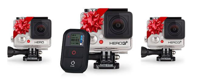 GoPro camera christmas present