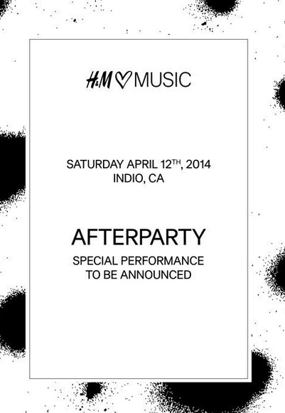 H&M Loves Music Coachella After Party