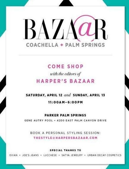 Harper's Bazaar Coachella after party