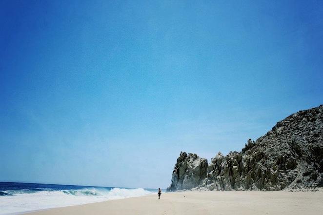 Lovers beach Cabo Mexico