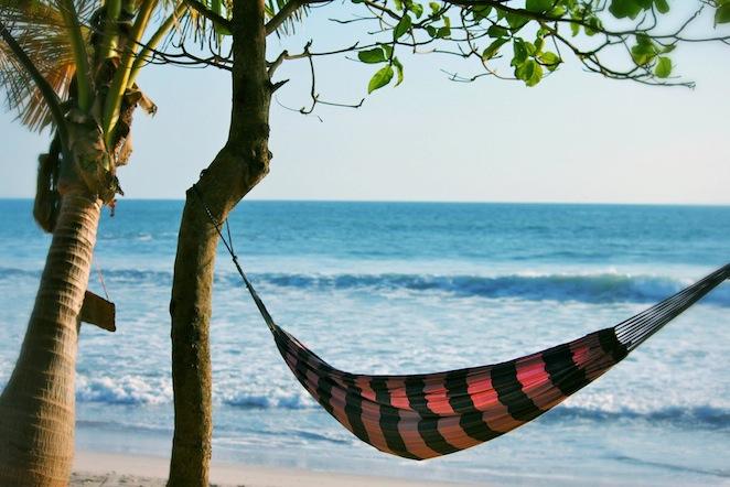 Mal Pais Beach Hammock Costa Rica