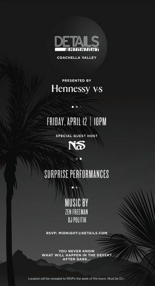 NAS Details Coachella Party 2013