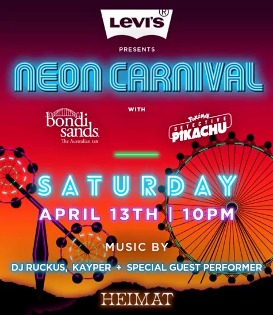 neon carnival 2019 coachella