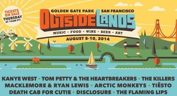 Outside Lands Tickets 2014