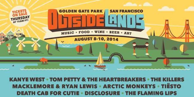 Outside Lands Tickets 2014