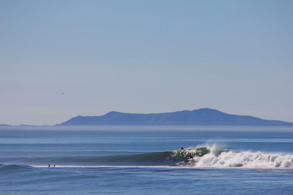 Ventura Overhead Surfing in January