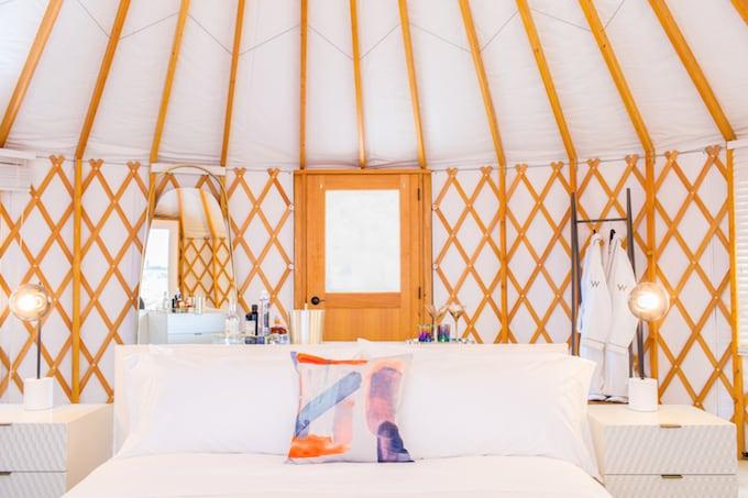 coachella safari camping yurts