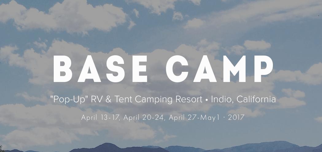 Basecamp 2017 camping