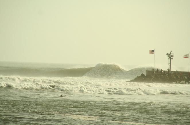 big wave sandspit