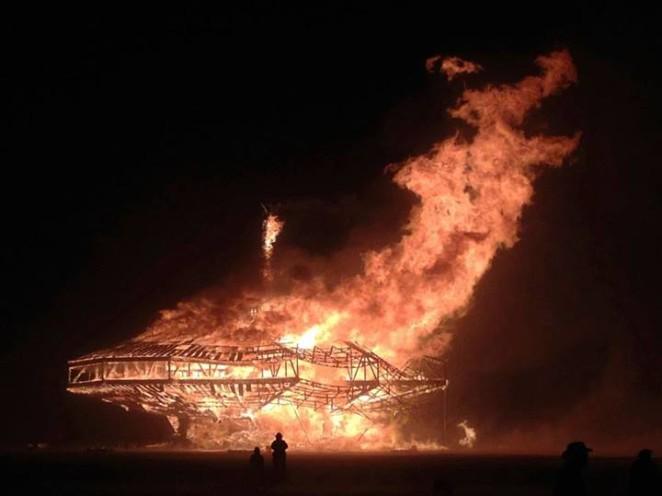 burning man 2013 burn