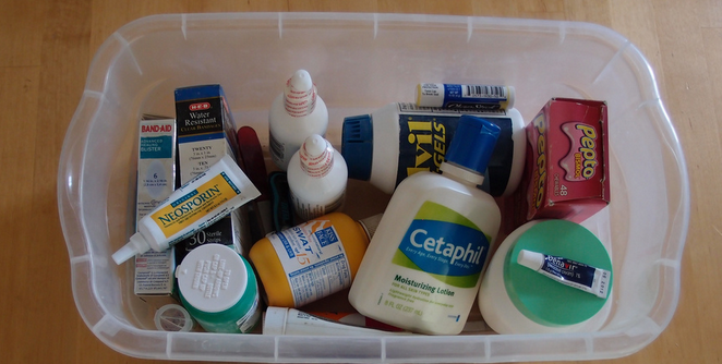 first aid kit for burning man