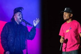chance and the weeknd in 2018 performing at coachell