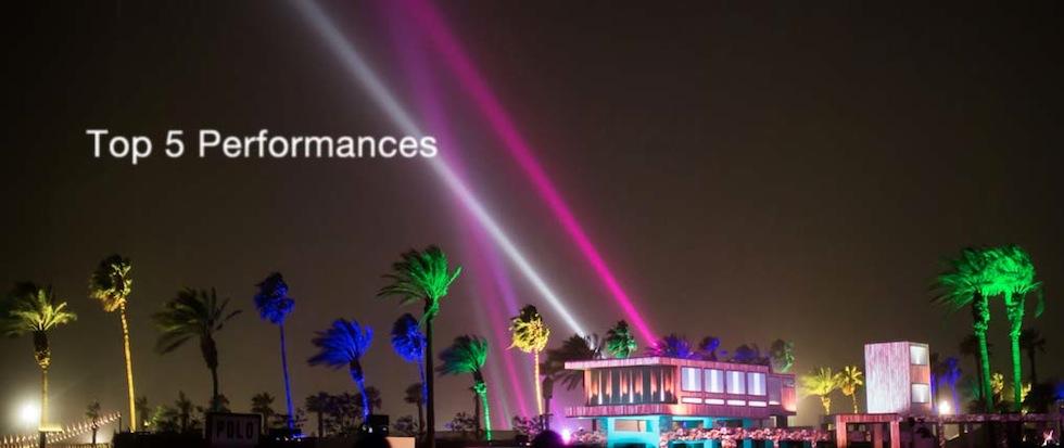 coachella 2013 top 5 performances
