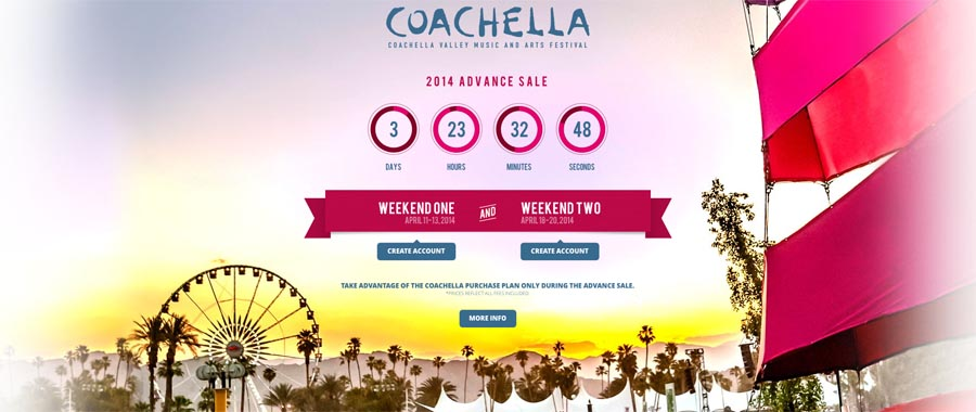 coachella 2014 dates presale information
