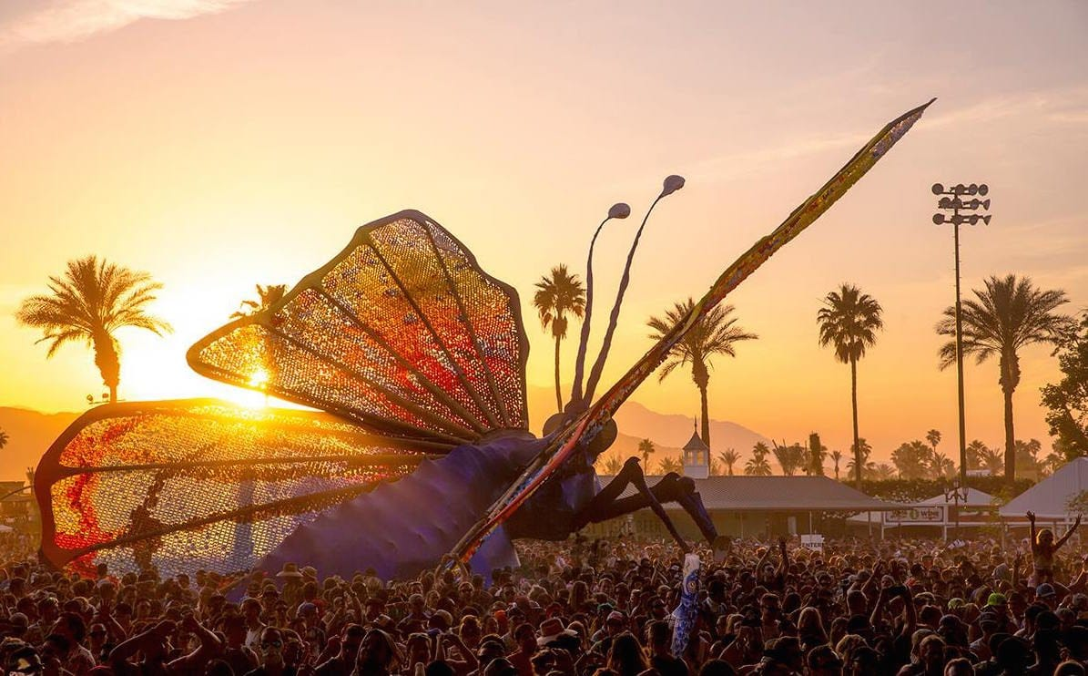 custom snapchat filters for Coachella