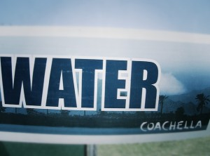 Coachella water sign