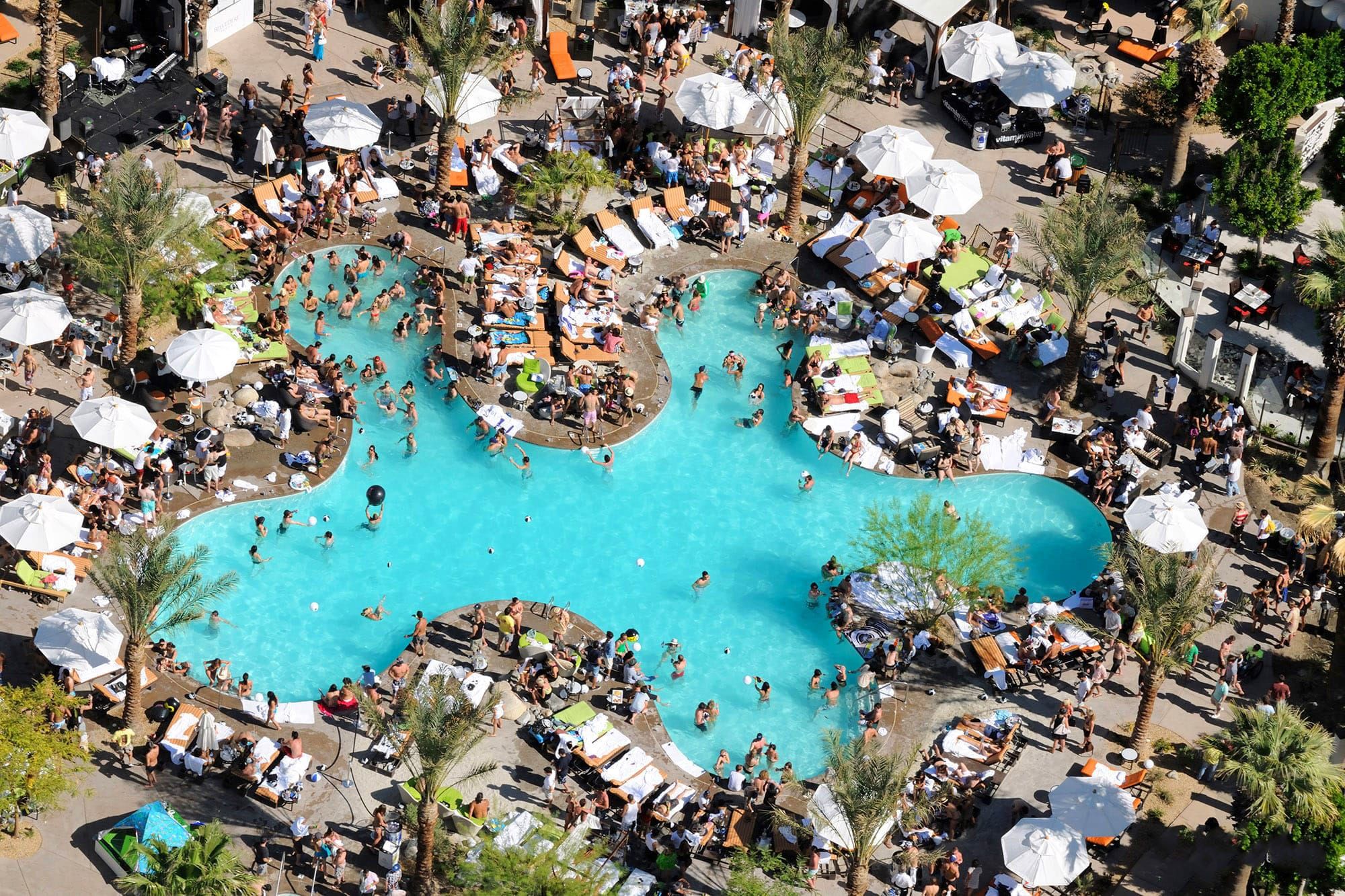Coachella parties and pool party