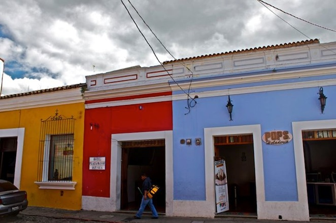 colorful homes in Antigua Guatemala