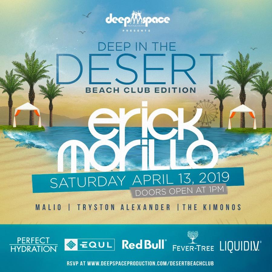 Deep Space Beach Club 2019