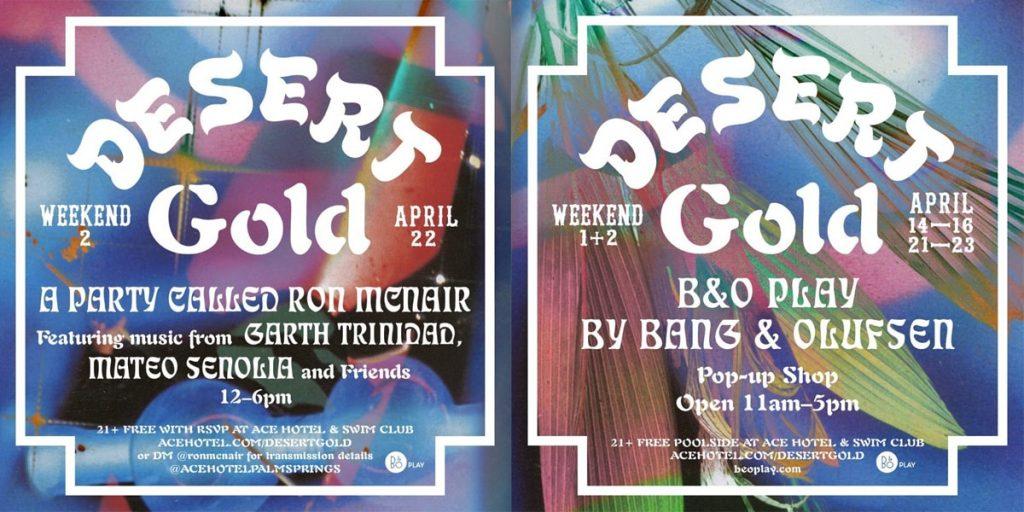 desert gold weekend 2 flyer