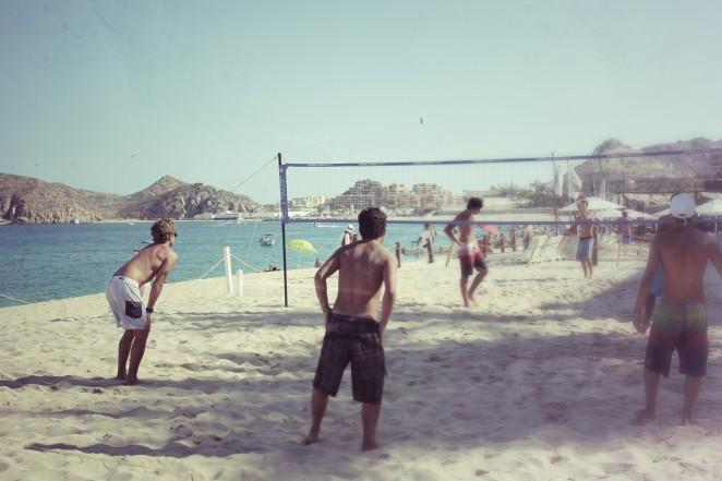 beach volleyball cabo mexico