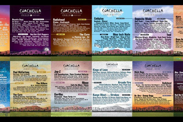 every coachella poster