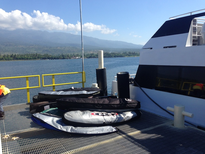 The Fast Boat to Sumbawa