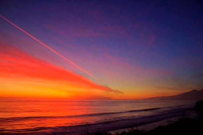 gaviota coast sunset