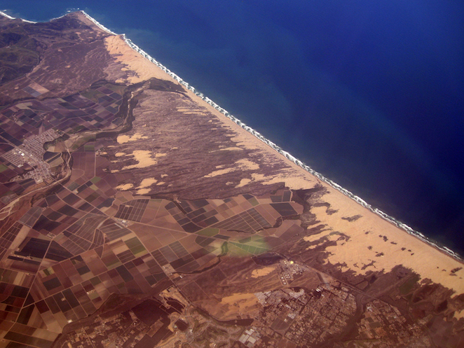 guadalupe dunes aerial view