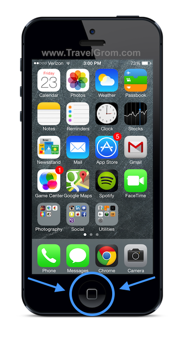 how to close iphone apps ios7