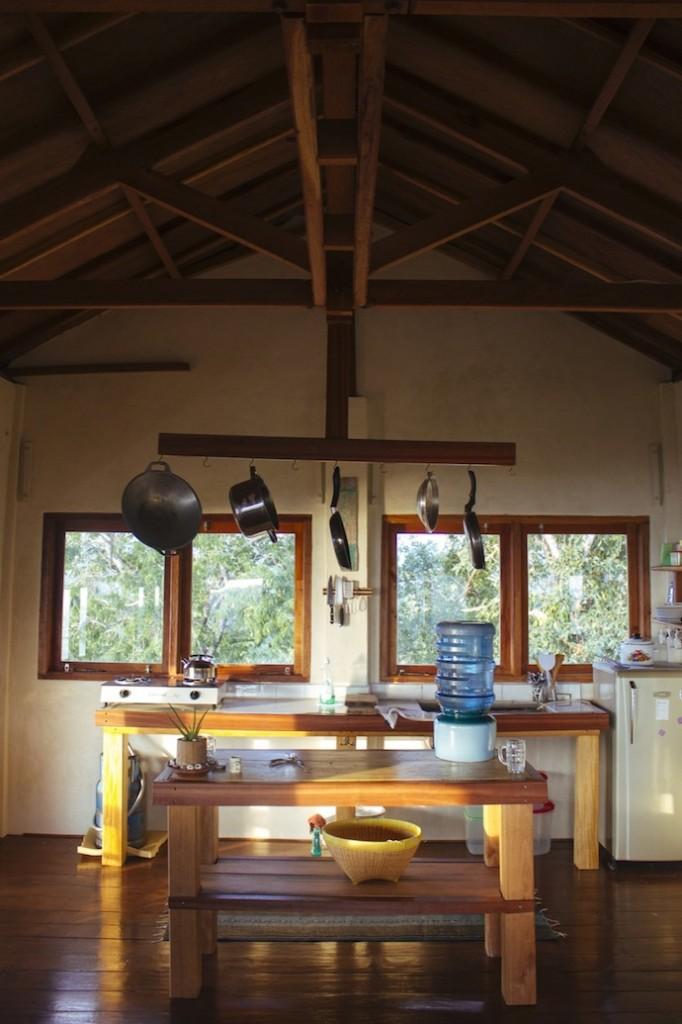 kitchen at maluk house
