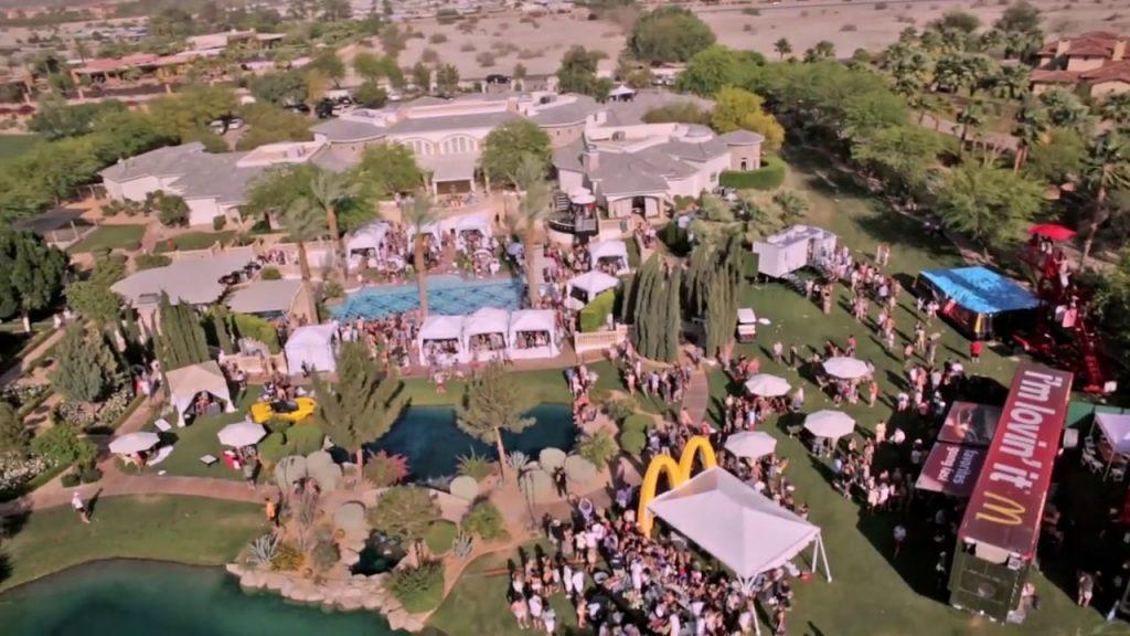 rancho mirage estate party bootsy bellows